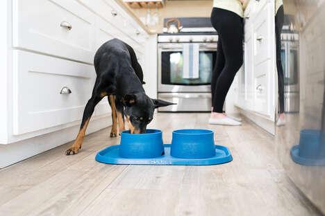 Ocean Plastic Dog Bowls