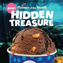 Treasure Chest-Inspired Ice Creams