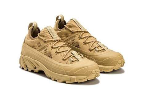 All-Over Tan Luxe Sneakers