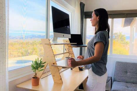 Flatpack Desktop Technology Stands