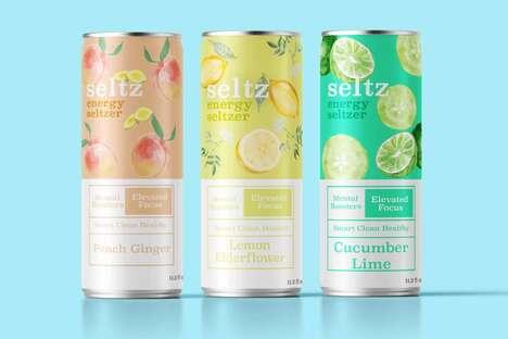 Seltzer Energy Drink Hybrids