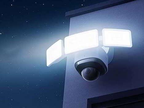 Panoramic Floodlight Security Cameras