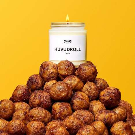Meatball-Scented Candles