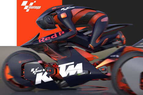 AI-Enabled Racing Motorcycles