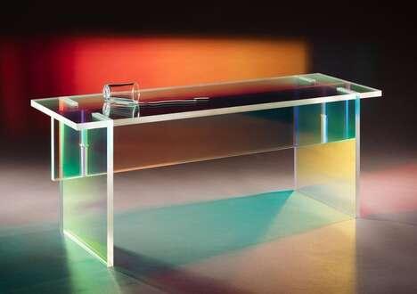 Dual-Purpose Plexiglass Furniture