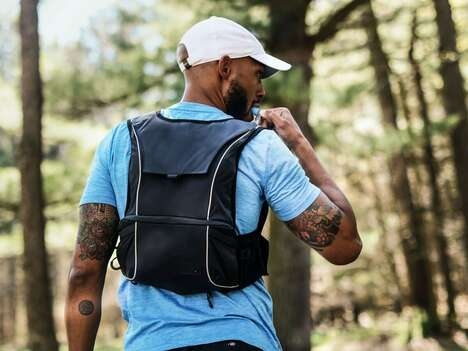 Contoured Wearable Hydration Packs