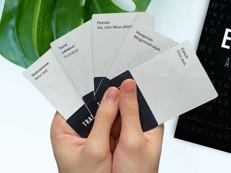 Language-Learning Card Games