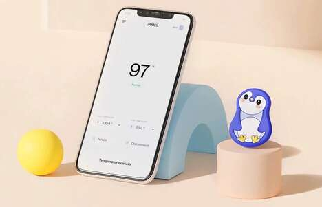 Wearable Child Thermometers