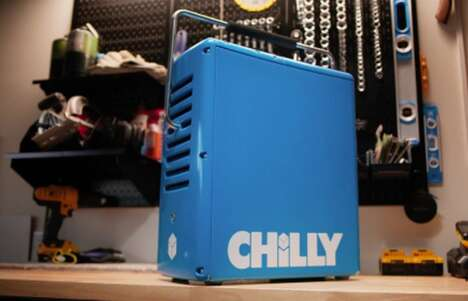 Ice-Powered Portable Coolers
