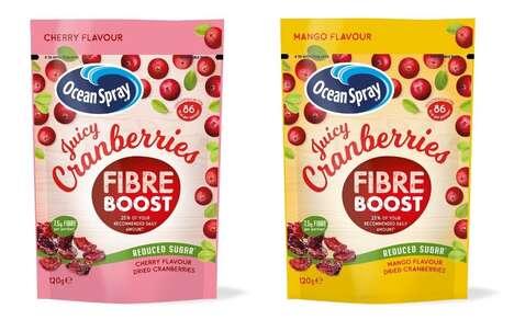 Fiber-Rich Cranberry Snacks