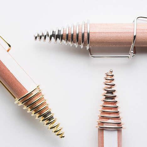 Swirled Pencil Tip Protectors