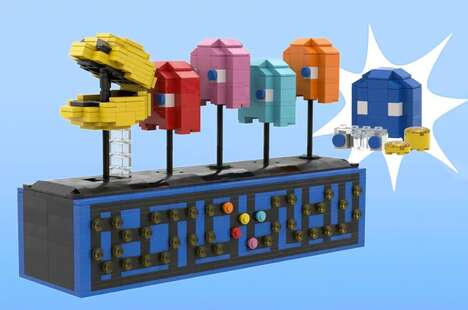 Video Game-Themed Kinetic Sculptures