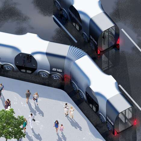 Modular Public Transport Trams