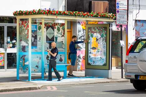 Gin-Scented Bus Shelters