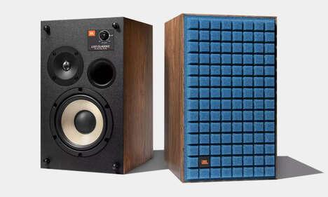 Advanced Vintage-Style Speakers