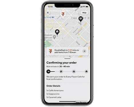 Order-Maximizing Delivery App Options
