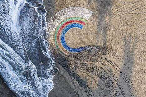 Artistic Beach Cleanup Initiatives