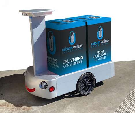 On-Demand Grocery Robots