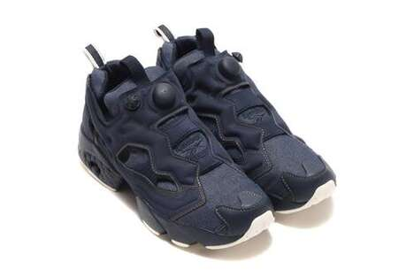 Entirely Denim Chunky Sneakers