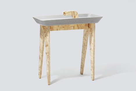Versatile Modular Side Tables