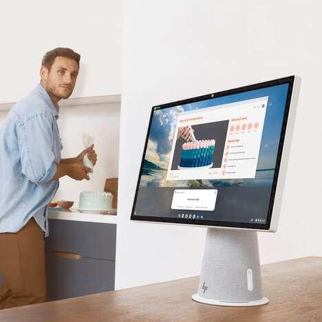 Rotating Hub Desktop PCs
