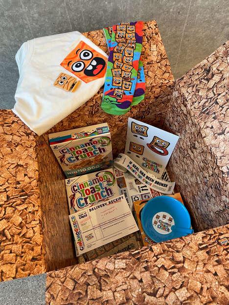 Teen-Targeted Cereal Deliveries