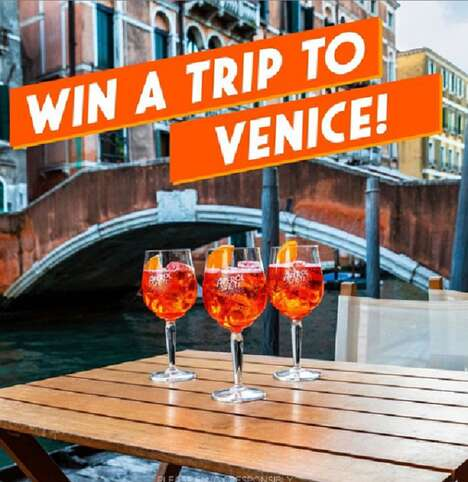 Alcohol Branded Vacation Contests