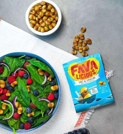 Fava Bean-Based Snack Alternatives