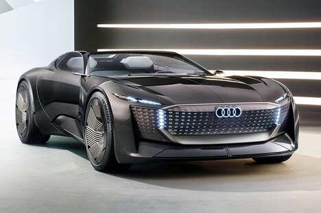 Shapeshifting Sports Car Concepts