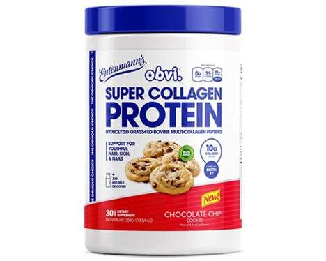 Cookie-Flavored Collagen Supplements