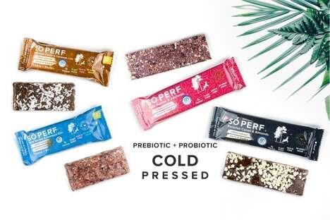 Cold-Pressed Probiotic Bars