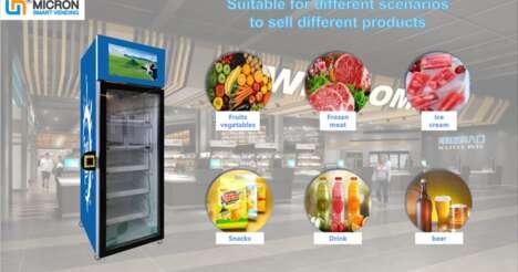 Smart Retail Fridges