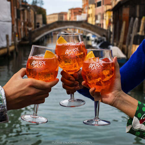 Globally Inspired Aperitif Campaigns