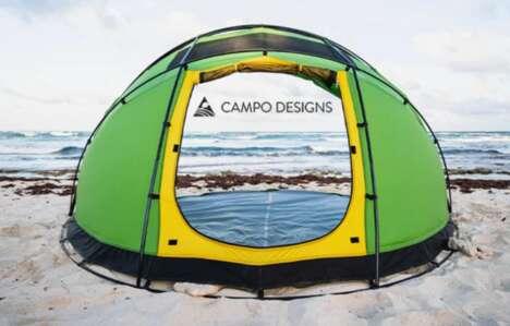 Versatile Retractable Tents