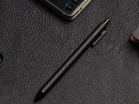 Retractable Mobile Device Styluses