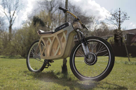 Artisan-Crafted Electric Scooters