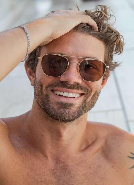 Elevated Aviator Sunglasses