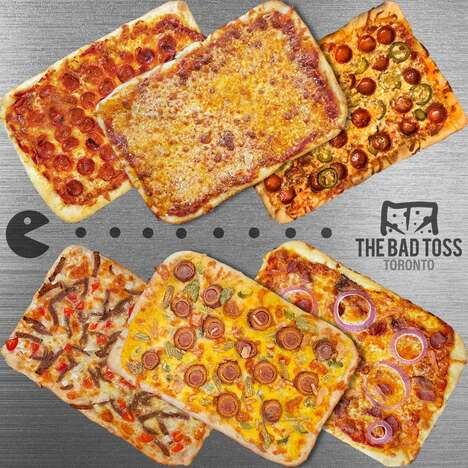 Unconventionally Flavored Frozen Pizzas