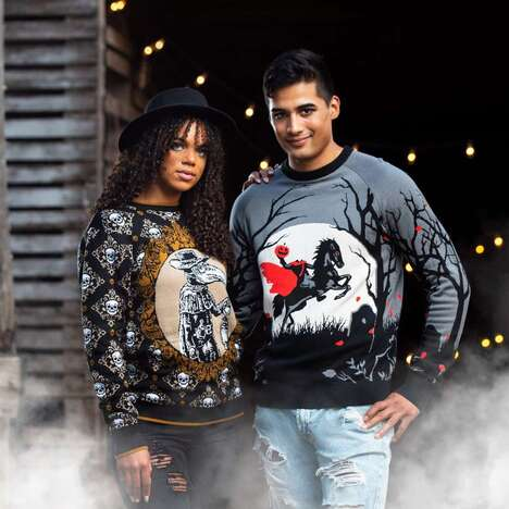 Spooky Intentionally Unsightly Sweaters