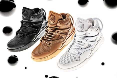 High-Fashion Retro Sneakers