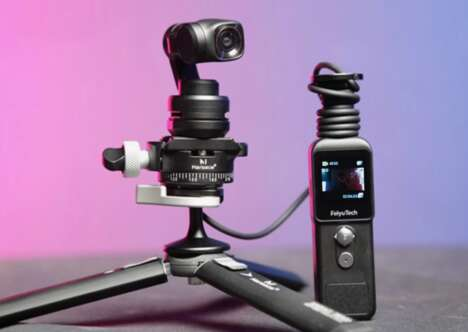 Featherweight Mountable Video Cameras