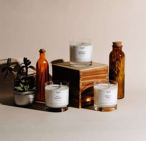 Elevated Floral Candle Collections