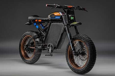 Toy Car-Inspired E-Bikes