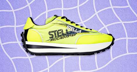 Vibrant Sustainable Sneakers