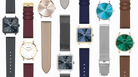 Customizable Watch Designs