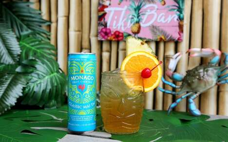 Tropical Canned Rum Cocktails