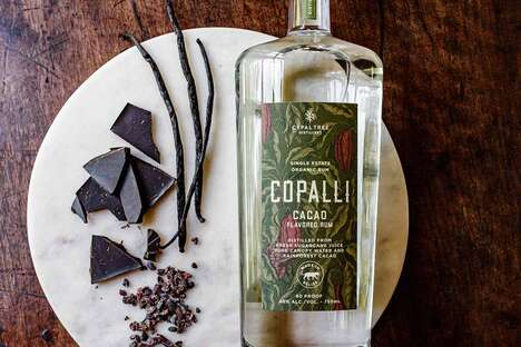 Cacao-Infused Rums