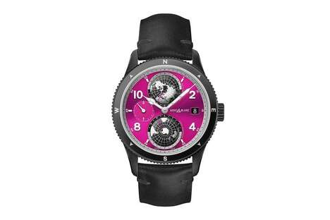 Charitable Pink-Hued Timepieces