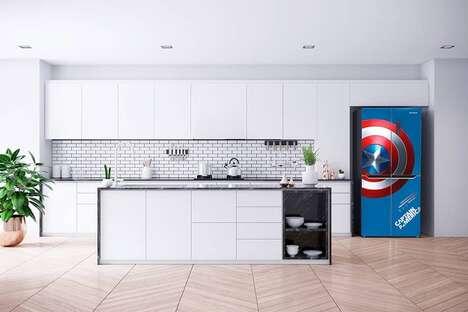 Superhero-Themed Home Appliances