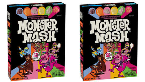 Monstrous Hybrid Breakfast Cereals